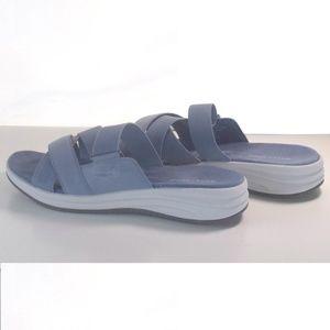 Easy Spirit Shoes - Womens Sandals Easy Spirit Drones 2 Blue Size 9M